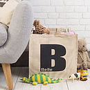 Personalised Children's Room Storage Bag