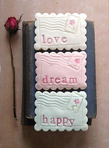 Box Of Three Love.Dream.Happy Cookies