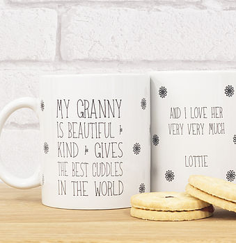 Personalised 'Granny' Mug