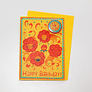 '4 Today' Lion Badge Card