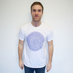 Mens Aztec T Shirt - Mens T-shirts & vests