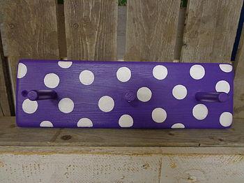 Spotty Peg Rack