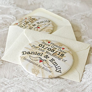 Personalised Save The Date Magnet - cards