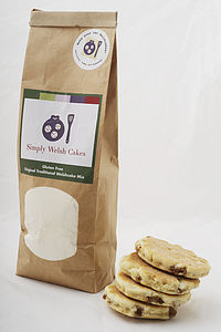 Gluten Free Traditional Welshcake Mix - cakes & treats