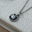 Steampunk Style Sterling Silver Necklace