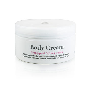 Frangipani And Shea Butter Body Cream