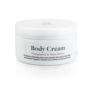 Frangipani And Shea Butter Body Cream