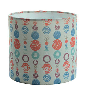 Buttons Lampshade - dining room