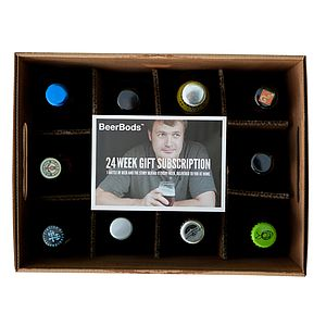 24 Week Beer Club Subscription - food subscriptions & kits