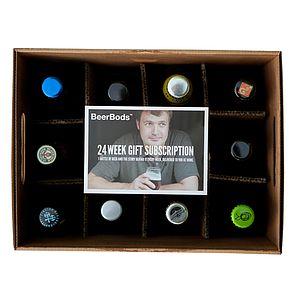 24 Week Beer Club Subscription