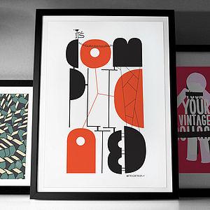 'It's Complicated' Fine Art Giclée Print