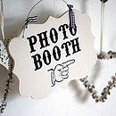 Photo Booth Wedding/Party Sign