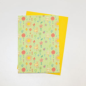 Set Of Six Spring Cards