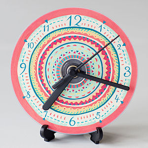 Aztec Compact Disc Clock - office & study