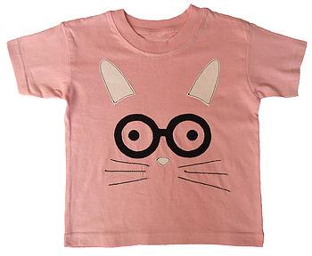 Girl's Easter Bunny T Shirt