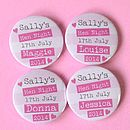 Personalised Hen Night Badge