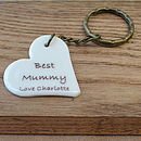 Personalised Mother's Day Keyring