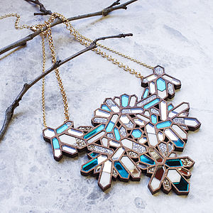 Kaleidoscope Necklace - statement necklaces