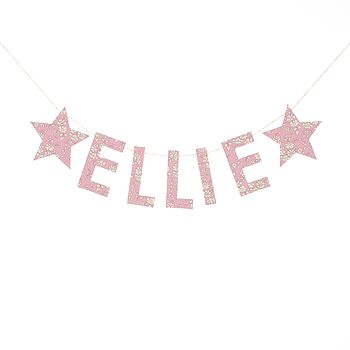 Capel Liberty Fabric Name Garland