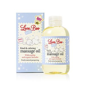 Kind & Calming Baby Massage Oil