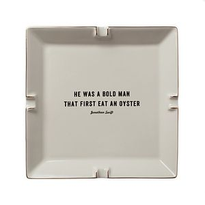 Oyster Lovers Cigar Ash Tray Or Desk Tidy