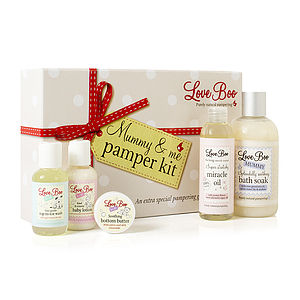 Mummy And Me Pamper Kit - mother & baby care sets