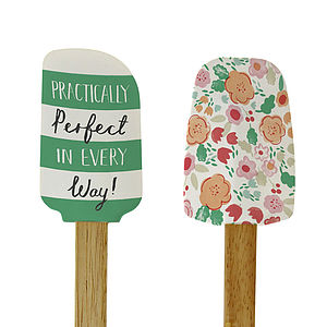 Practically Perfect Mother Spatula Set Of Two - mother's day gifts