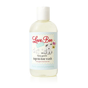 Very Gentle Top-To-Toe Wash - baby care