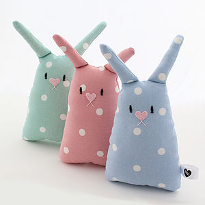 Personalised Baby Bunny Toy - royal-baby-gift-ideas
