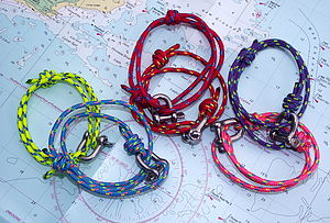 Sailors Shackle Friendship Bracelet - bracelets & bangles