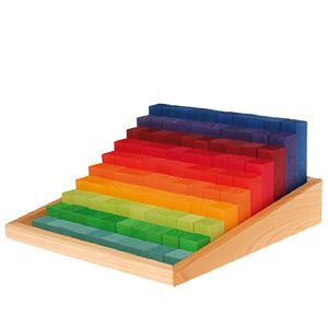 Wooden Counting Blocks - toys & games