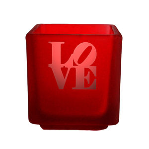 Love Tealight Candle Holder - candles & candlesticks