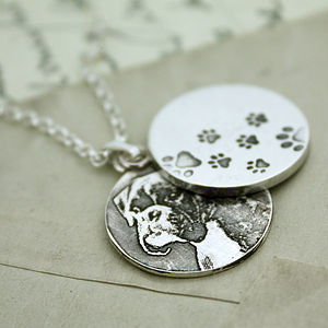 Personalised Pet Locket Pendant