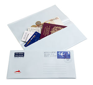 Airmail Document Wallet - stationery