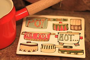 Square Hotpot Stand - trivets