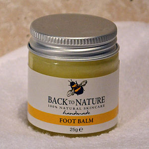 Cooling And Refreshing Peppermint Foot Balm - foot care