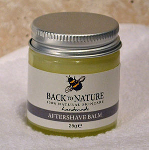 Natural Moisturising Aftershave Balm