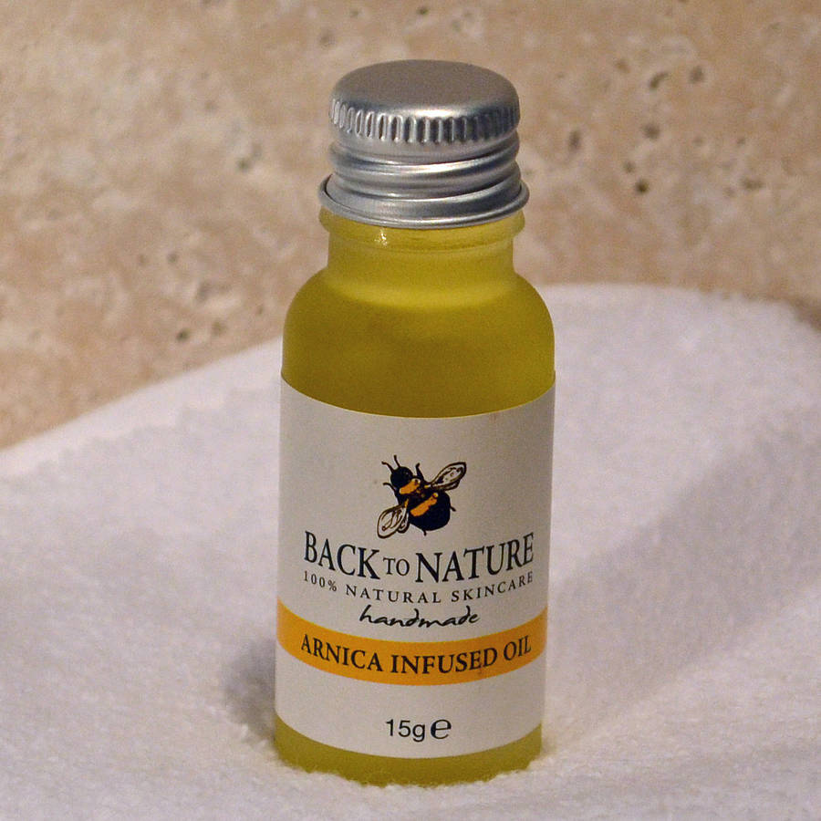 Arnica Infused Oil For Bruises