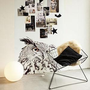 Owl Print Magnetic Wallpaper