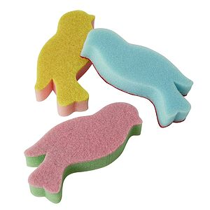 Bird Shaped Sponge Set Of Three - home