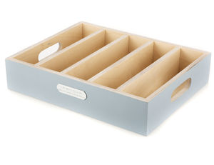 Painted Cutlery Drawer With Handles - kitchen
