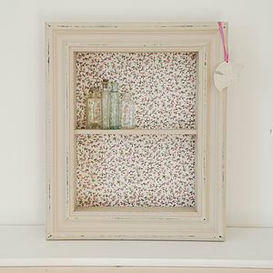 Vintage Style Wall Shelf Box - home