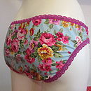 Flo Jo's Knicker Making Kit Vintage Rose