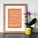 Winnie The Pooh 'Sometimes…' Quote Print