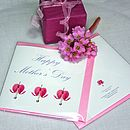 Mothers Day Card 'Bleeding Hearts'