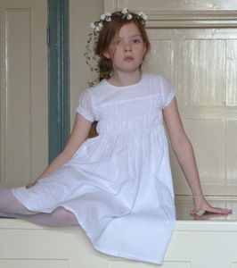 Bronte Dress - flower girl fashion