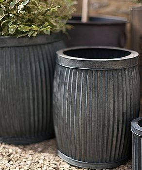 Vence Planters   Set Of Two