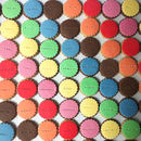 Ten Customised Colourful Cookies