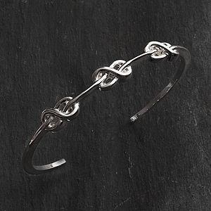 Alicia Triple Infinity Bracelet