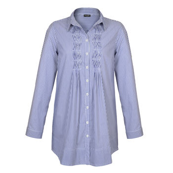 NoLoGo Italian Shirting Stripe Tunic